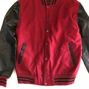 Other - Brand new varsity baseball wool and leather jacket